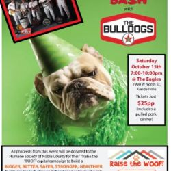 Noble Co Humane Society Building Bash